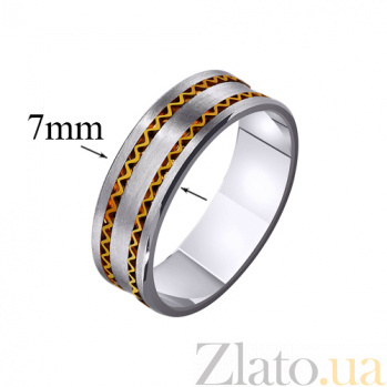 Золотое обручальное кольцо Мой дар TRF--4411380