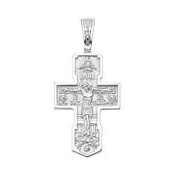 Серебряный крестик 000145779