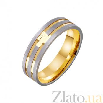 Золотое обручальное кольцо Моя нежная мелодия TRF--431265