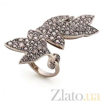 Кольцо Hera с коньячными бриллиантами R-Stern-E-80bd