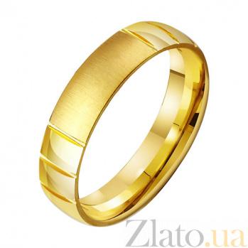 Золотое обручальное кольцо Сладкая любовь TRF--431368
