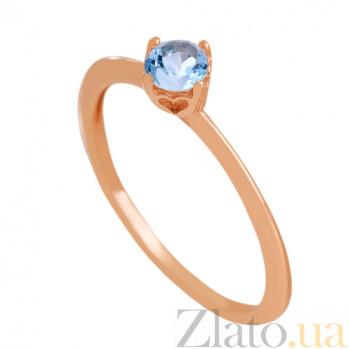 Золотое кольцо с топазом Элинора VLN--112-1757-1