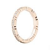 Обручальное кольцо из розового золота И все же