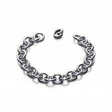 Серебряный браслет Связаны одной цепью