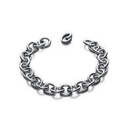 Серебряный браслет Связаны одной цепью 000043676