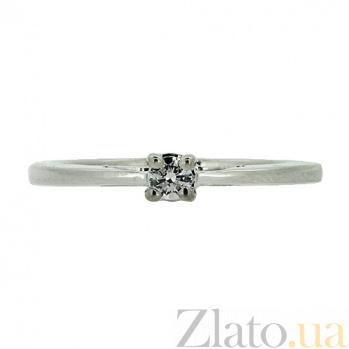 Серебряное кольцо с цирконием Виджая ZMX--RCz-6973-Ag_K