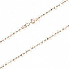 Золотая цепочка панцирного плетения с алмазной насечкой Элегантность