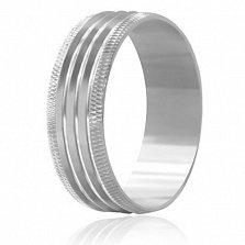 Кольцо из серебра Счастливая свадьба