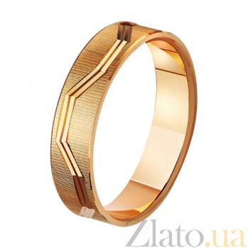 Золотое обручальное кольцо Нефертити TRF--411072