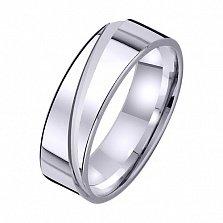 Золотое обручальное кольцо На волне любви