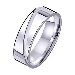Золотое обручальное кольцо На волне любви 000008832