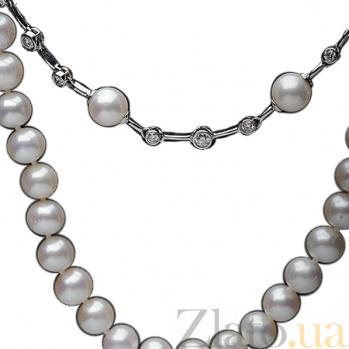 Жемчужное колье с бриллиантами Отранто SG--39692001