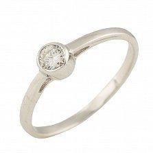 Серебряное кольцо Лейла с цирконием