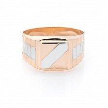 Золотой перстень-печатка Арагон