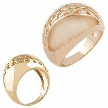 Серебряное кольцо Хармони с кошачьим глазом