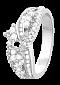 Кольцо из серебра с цирконием Теодора 000025735