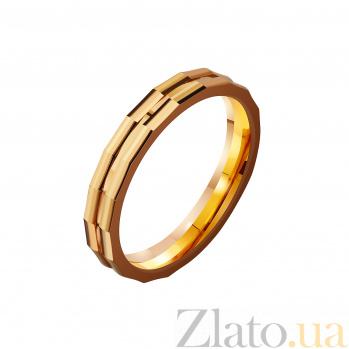Золотое обручальное кольцо Тобой дышу TRF--4112177