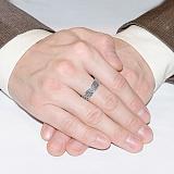 Серебряное кольцо с чернением Анита