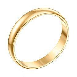 Обручальное кольцо из желтого золота 000000296