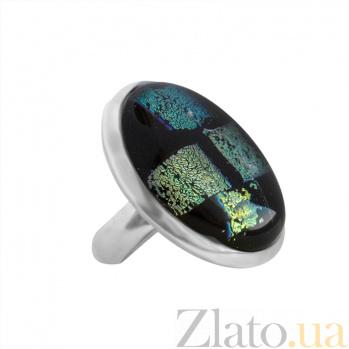 Серебряное кольцо с имитацией опала Импрессионизм 000007010