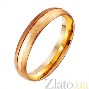 Золотое обручальное кольцо Чувственность TRF--411096