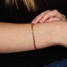Золотой браслет Нонна, 4мм