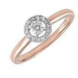 Кольцо из золота Эвжени с бриллиантами