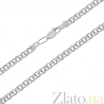 Серебряная цепочка Бисмарк, 4мм 012653