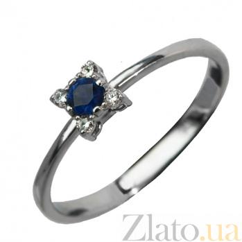 Золотое кольцо с сапфиром Кристинэ PTL--3к688/42