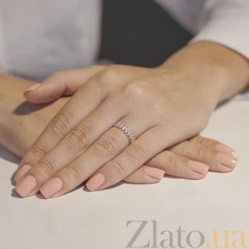 Золотое кольцо Диана с цирконием VLT--Н1356