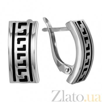 Серебряные серьги Аннабель TNG--930006С