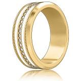 Обручальное кольцо из желтого золота Тайна: Вдохновение