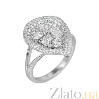 Серебряное кольцо Росита с фианитами 000081618