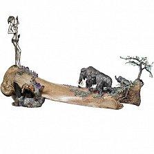 Серебряная композиция Мамонтовый век