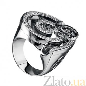Золотое кольцо с бриллиантами Адажио KBL--К1737/бел/брил