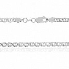 Серебряная цепь Бремен, 55 см, 3 мм