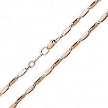 Золотая цепочка Forever фантазийного плетения, 3мм