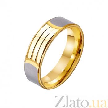 Золотое обручальное кольцо Знак любви TRF--432326