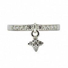 Серебряное кольцо с цирконием Аванти