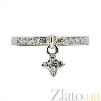 Серебряное кольцо с цирконием Аванти ZMX--RCz-6905-Ag_K