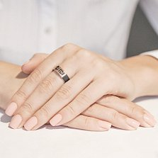 Серебряное кольцо Калисто