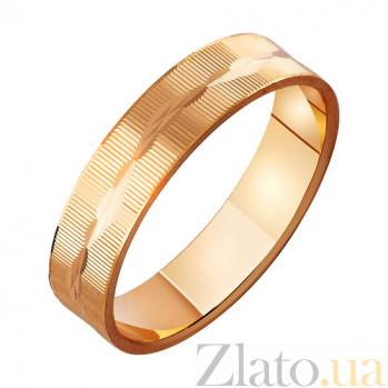 Золотое обручальное кольцо Сердце Нила TRF--411039