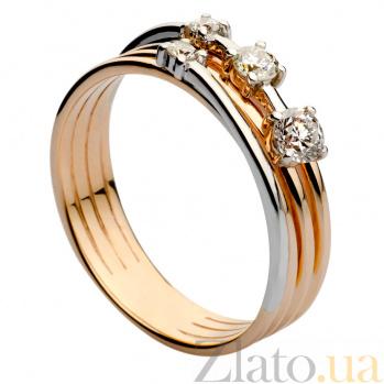Золотое кольцо с бриллиантами Хельга 000030500