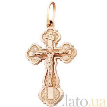 Золотой крестик Кротость AUR--34024