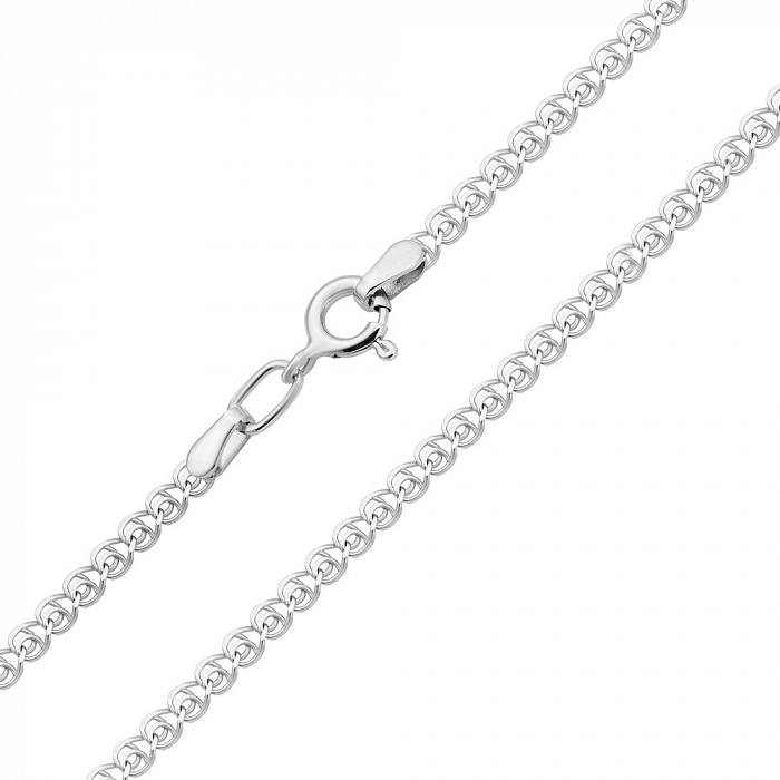 Серебряная цепочка в плетении лав, 2 мм 000118233 000118233