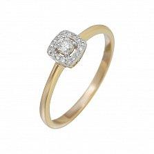 Золотое кольцо с бриллиантами Эльфийская песня