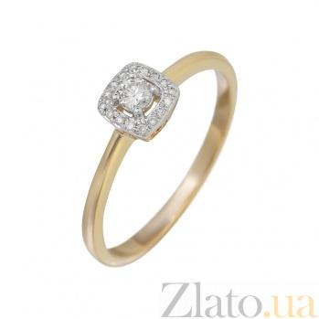Золотое кольцо с бриллиантами Эльфийская песня 000032308