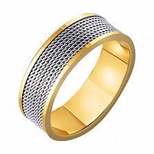 Золотое обручальное кольцо Джоанна