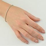 Золотой браслет с бриллиантами Афродита