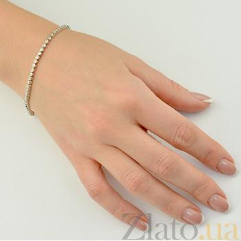Золотой браслет с бриллиантами Афродита EDM--БР/1Д